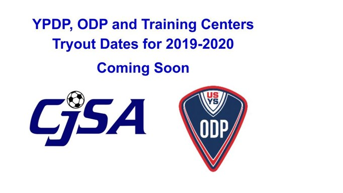 ODP TRYOUT DATES COMING SOON