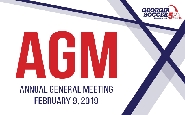 2019 AGM - RSVPs Due January 11, 2019