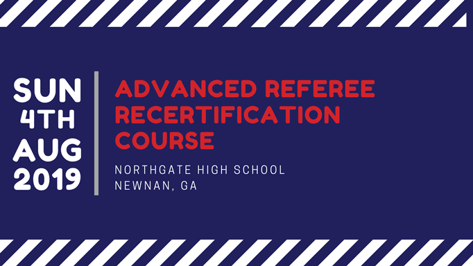 Advanced Referee Recertification Course
