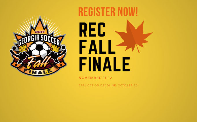 Register Now for the Georgia Rec Fall Finale!