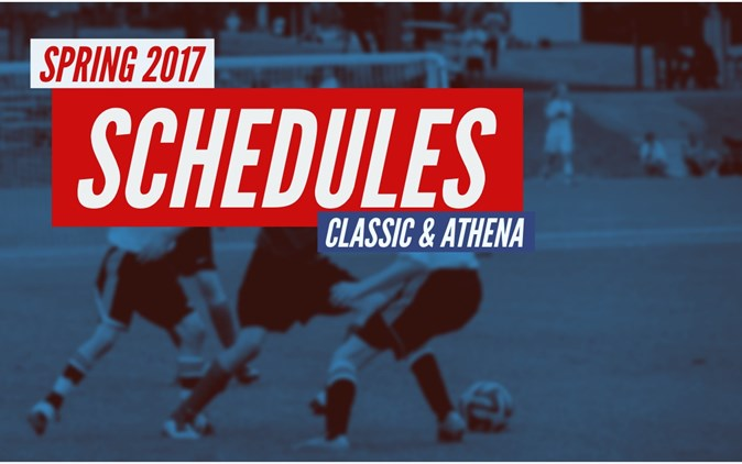 Spring '17 Athena & Classic Schedules Available