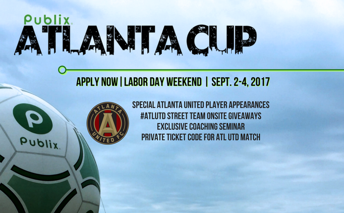 Apply NOW for Publix Atlanta Cup 2017