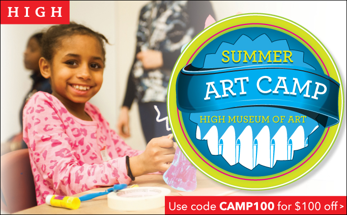 Member Discount for High Museum Camps