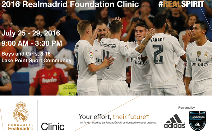 Realmadrid Foundation Clinic and Chance to...