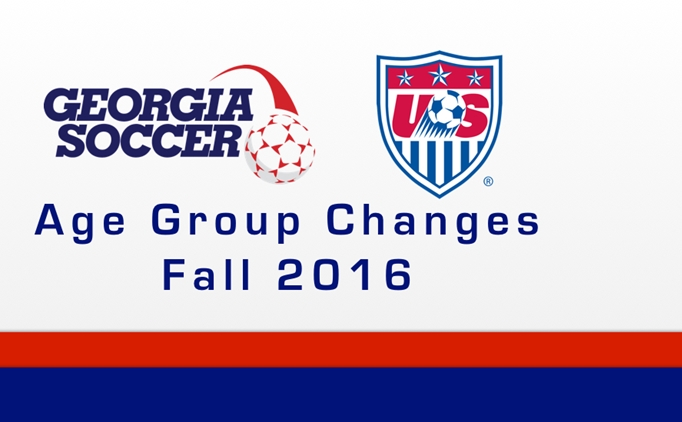 U.S. Soccer Age Group Changes