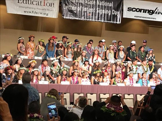 49 Hawaii Senior Soccer Players Sign...