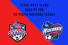 7 teams qualify for natl league FINAL