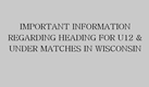 Important Information Regarding Heading in Wisconsin