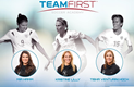 Team First Soccer Academy featuring Mia Hamm, Kristine Lilly, and Tisha...