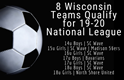 8 Wisconsin Teams Qualify for 19-20 National League