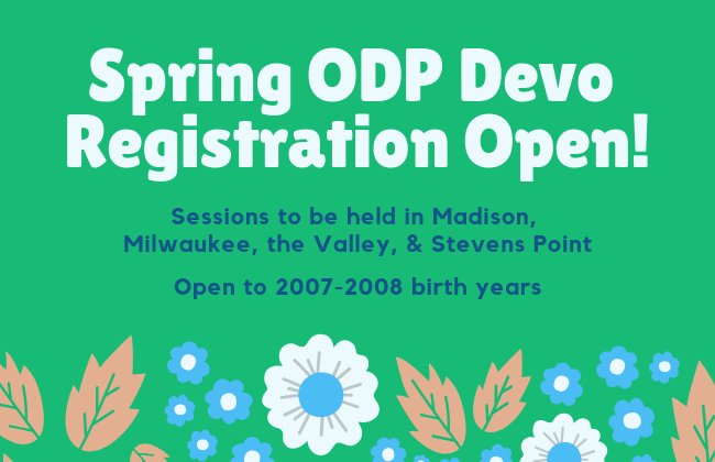 2019 Spring ODP Developmental Registration...