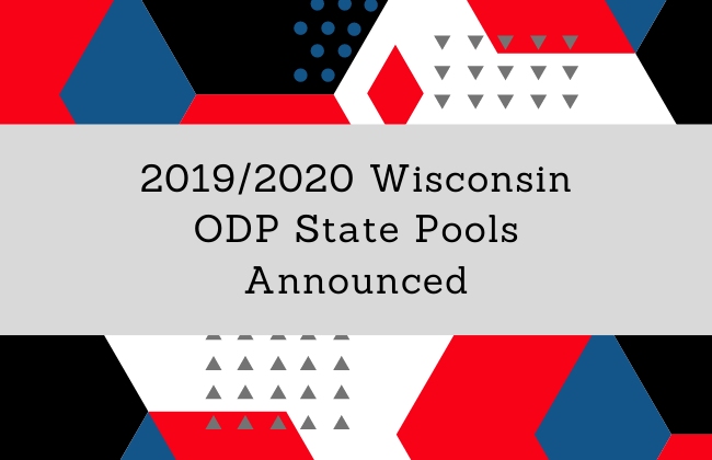 19/20 Wisconsin ODP State Pools Announced