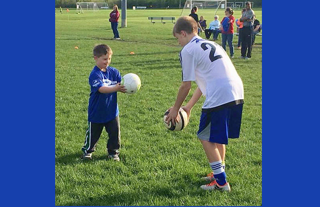 Rush Wisconsin West Starts TOPSoccer Program