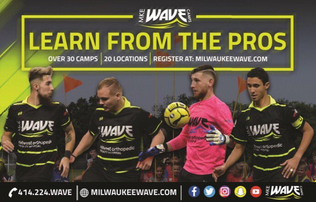2017 Milwaukee Wave Summer Camps