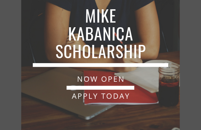 2019 Mike Kabanica Scholarship Open