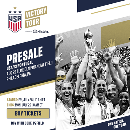 U.S. Women's National Team Victory Tour