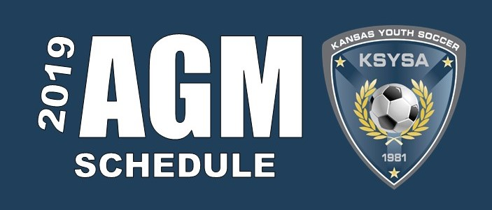 2019 AGM Logo Schedule