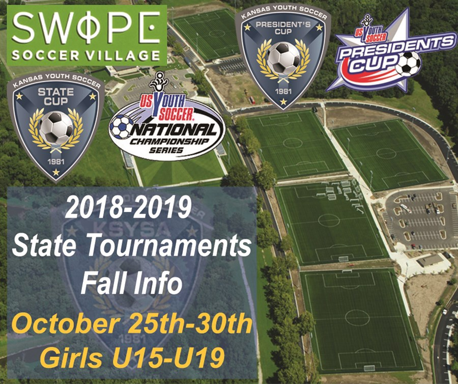 2018-2019 Girls Fall State Tournament Dates