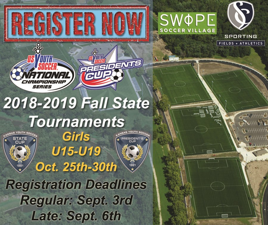 2018-2019 Girls Fall State Tournament Register now 2