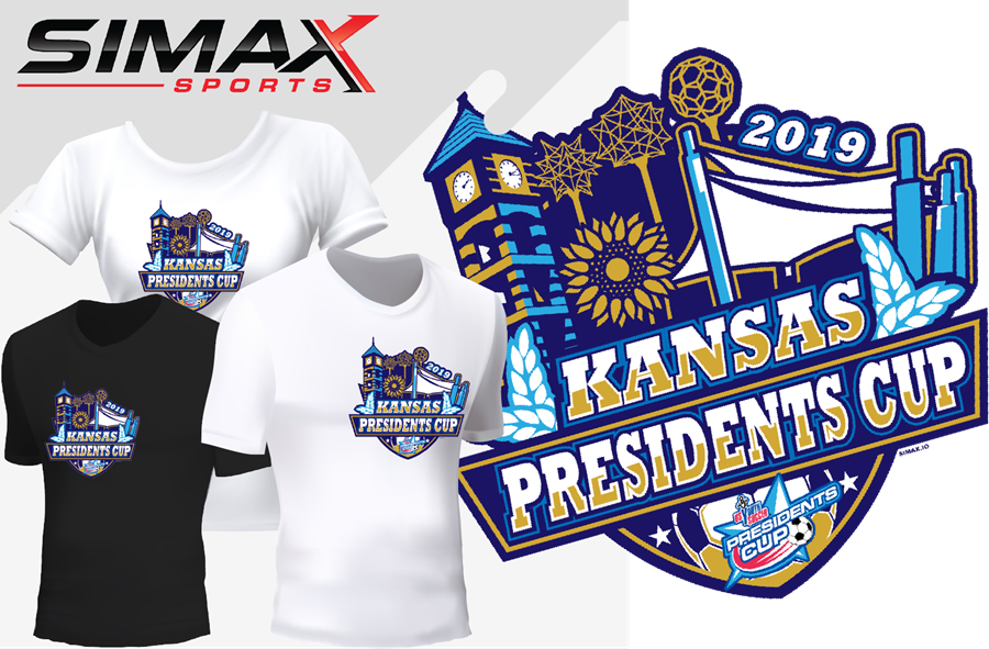 2019 Kansas Presidents Cup Tee Template