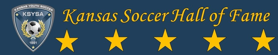 Kansas Soccer Hall of Fame Page Banner