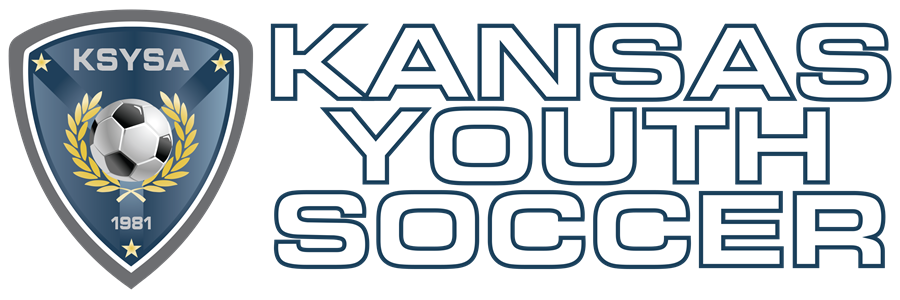 Kansas Youth Soccer_white_blue outline PNG