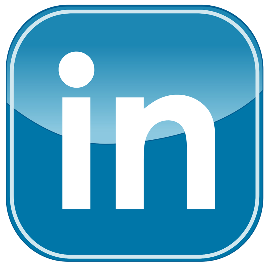 Linked In Button PNG
