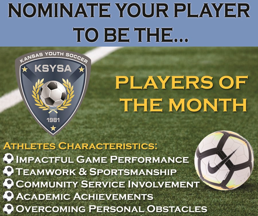 Nominate Player of the Month