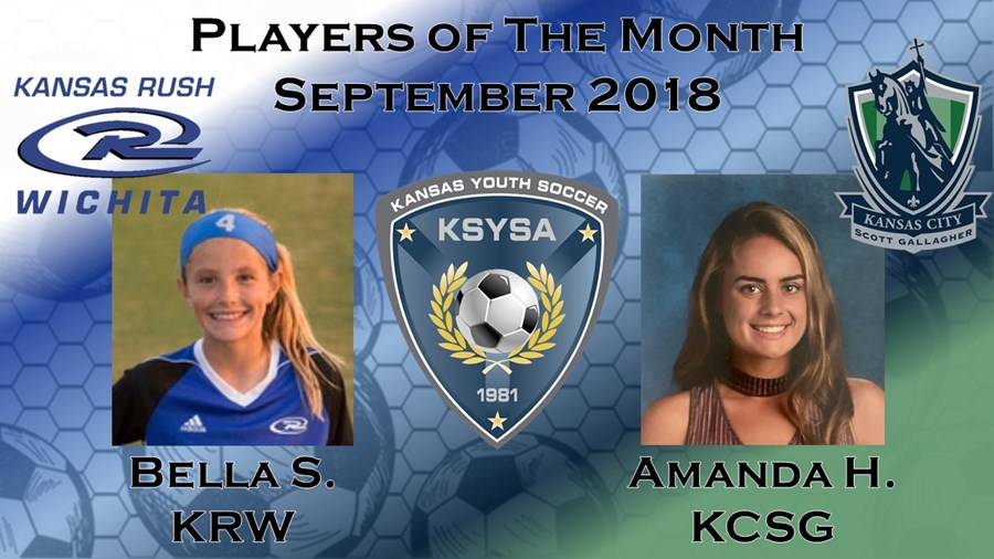 Player of the Month September 18 Graphic