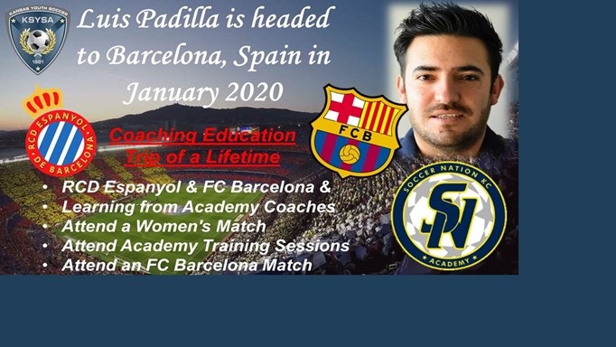 Luis Padilla Wins Coaching Trip to Barcelona!