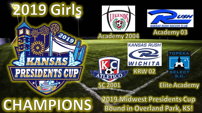 2019 Girls KS Presidents Cup Champs & Finalist