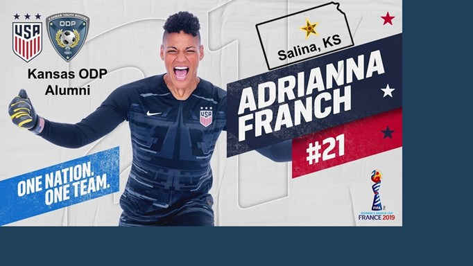 Franch Named to 2019 FIFA World Cup Roster!