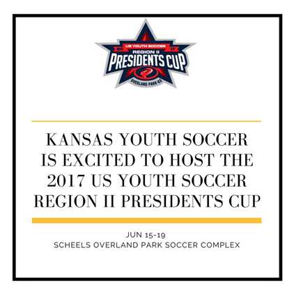 Kansas Youth Soccer is Excited To Host The...