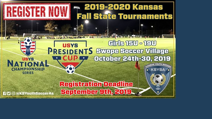 REGISTER NOW for 19-20 Fall State Tournaments!