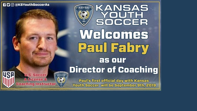 Welcome Paul Fabry as the New DOC