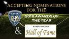 Now Accepting 2018 Awards & Hall of Fame Nominations