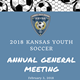 Kansas Youth Soccer AGM will be February 3rd, 2018