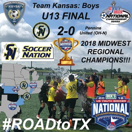 Soccer Nation KC Crowned Midwest Regional...