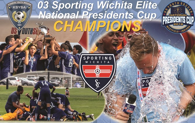 Sporting Wichita Crowned National Presidents...