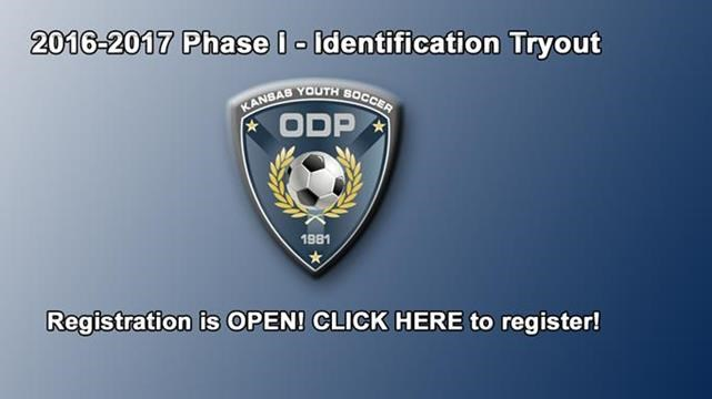 ODP Phase I - Identification Tryouts