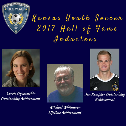Congratulations to the 2017 Hall of Fame...