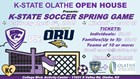 K-State Soccer vs Oral Roberts in Olathe, KS