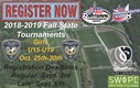 REGISTER NOW: 2018-2019 Girls Fall State Cup & Presidents Cup