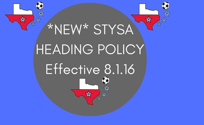 *NEW* STYSA Heading Policy