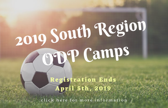 2019 South Region ODP Camps
