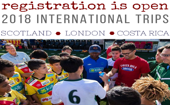 2018 ODP International Trips