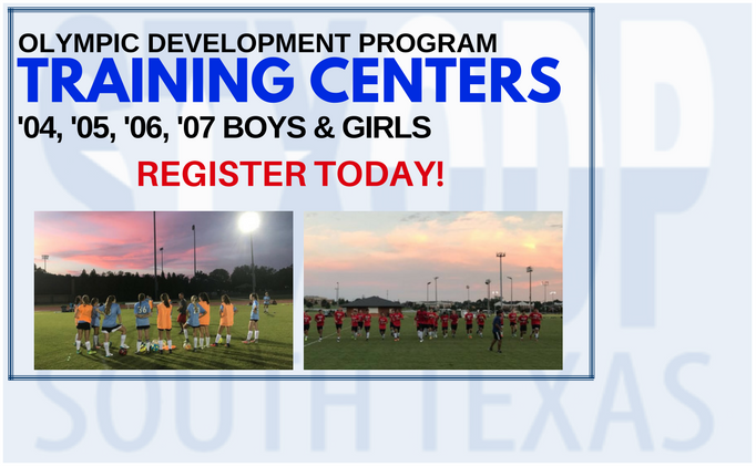 2017 STX ODP Training Centers