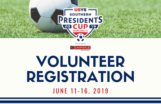 Southern Presidents Cup Volunteer Registration