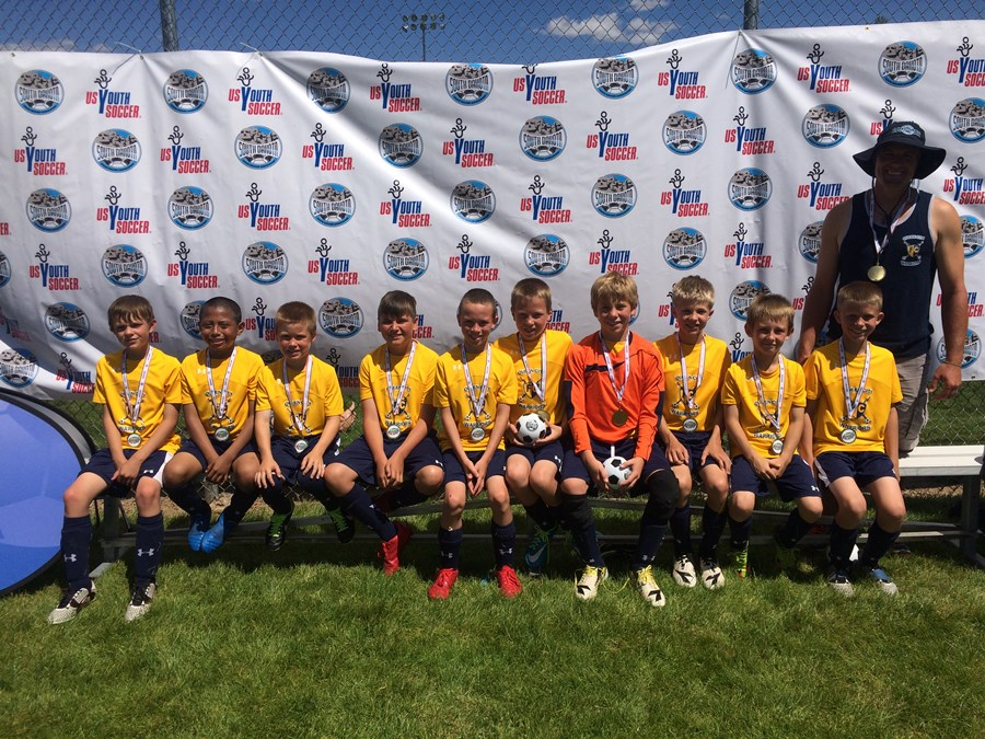 QCFC U10B Warriors Gold