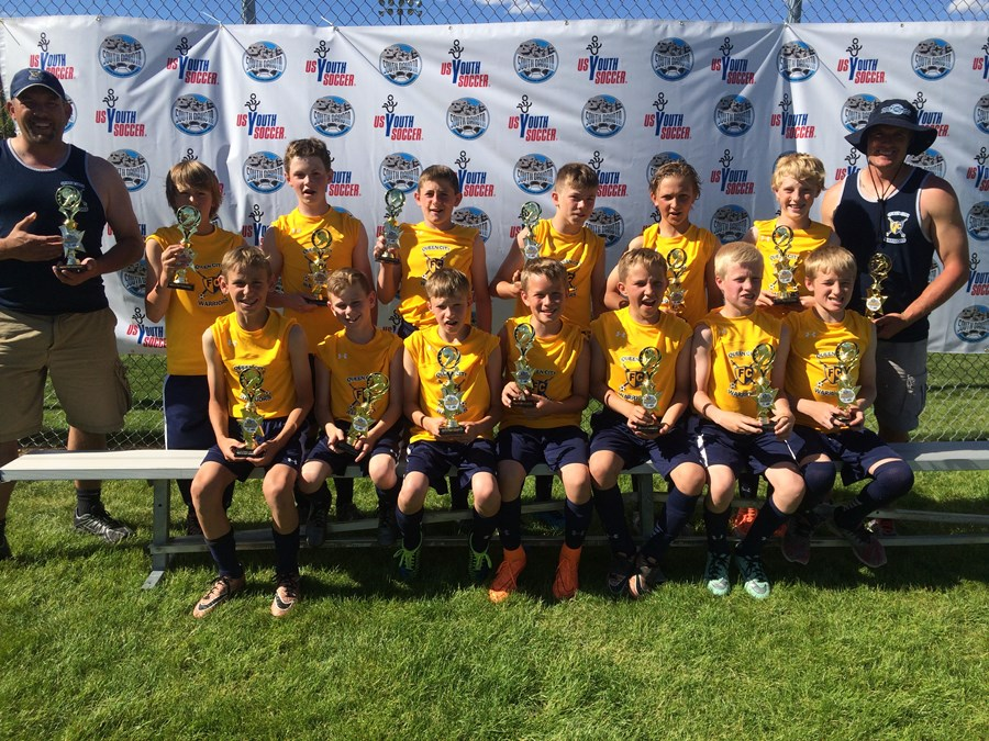 QCFC U12B Gold Warriors